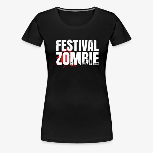 Festivalzombie Shirt A Woman - Frauen Premium T-Shirt