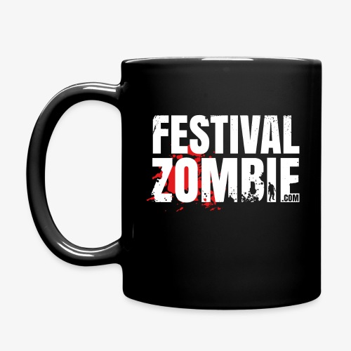 Festivalzombie Tasse - Tasse einfarbig