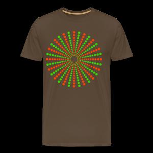 Hippikreisstern Shirt - Männer Premium T-Shirt