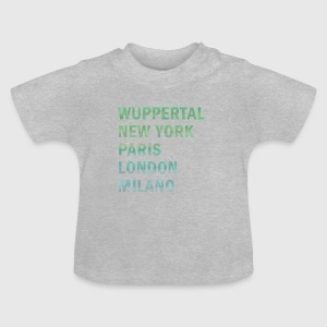 Metropole Wuppertal Baby T-Shirts - Baby T-Shirt