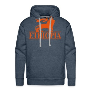 ETHIOPIA ORANGE - Sweat-shirt à capuche Premium pour hommes
