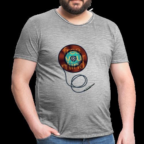 free-your-mind SLS0102C (45 / 7 inch VINYL PRINT) - Männer Vintage T-Shirt