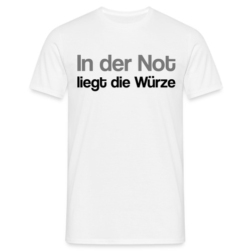 würzige Not - Männer T-Shirt