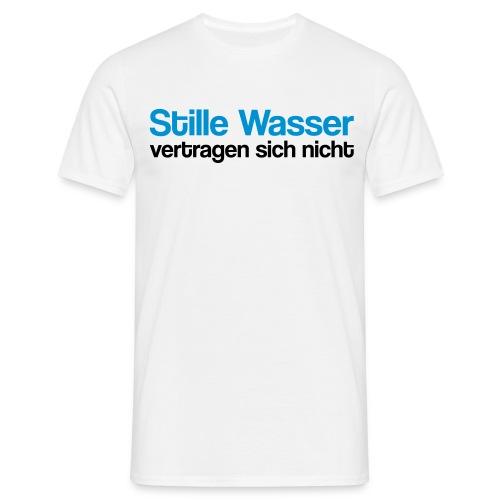 stille Wasser - Männer T-Shirt
