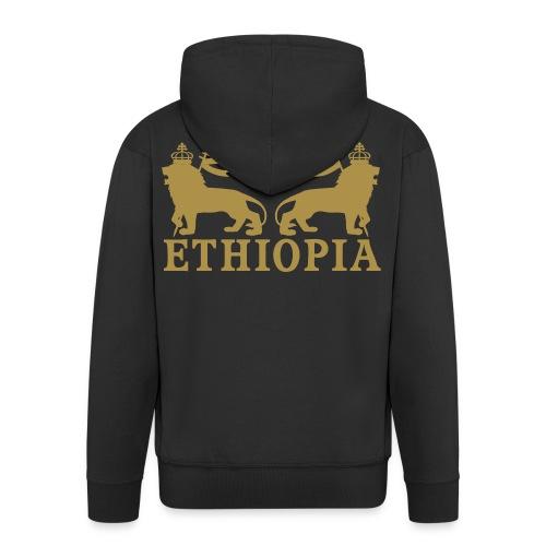 ETHIOPIA GOLD - Veste à capuche Premium Homme