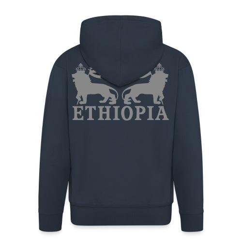 ETHIOPIA ARGENT - Veste à capuche Premium Homme