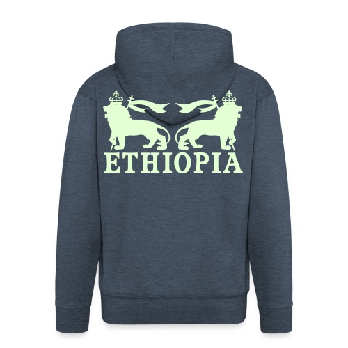 ETHIOPIA PHOSPHORESCENT - Veste à capuche Premium Homme
