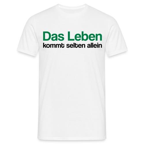 alleine Leben - Männer T-Shirt
