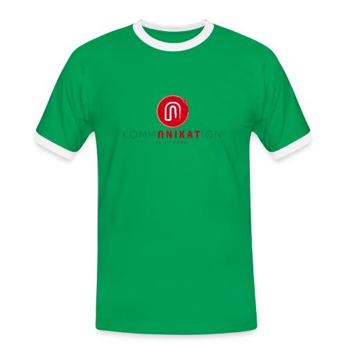 Sei ein Unikat! - Männer Kontrast-T-Shirt