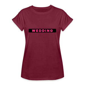 WEDDING Berlin  - Frauen Oversize T-Shirt