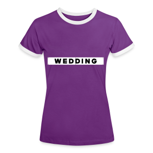 WEDDING Berlin  - Frauen Kontrast-T-Shirt