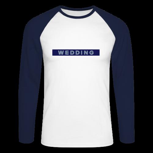 WEDDING Berlin  - Männer Baseballshirt langarm