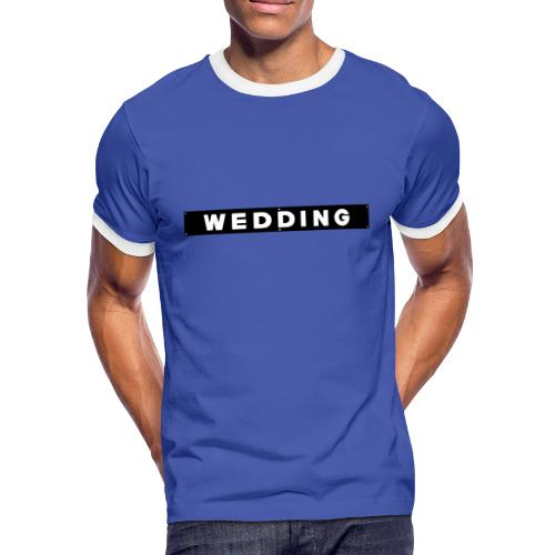 WEDDING Berlin  - Männer Kontrast-T-Shirt