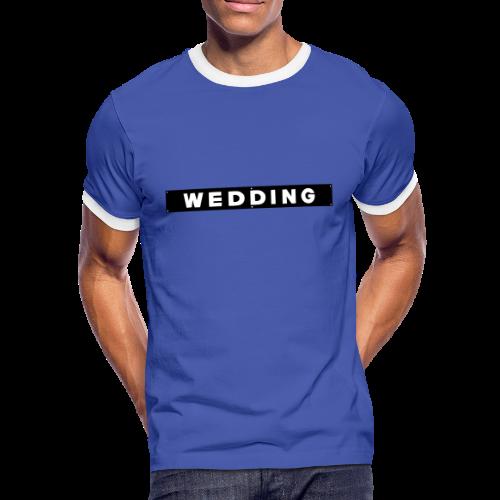 WEDDING Berlin  - Männer Kontrast-T-Shirt