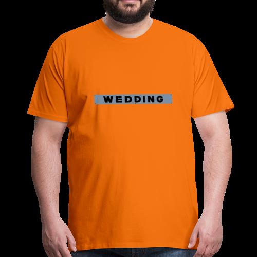 WEDDING Berlin  - Männer Premium T-Shirt
