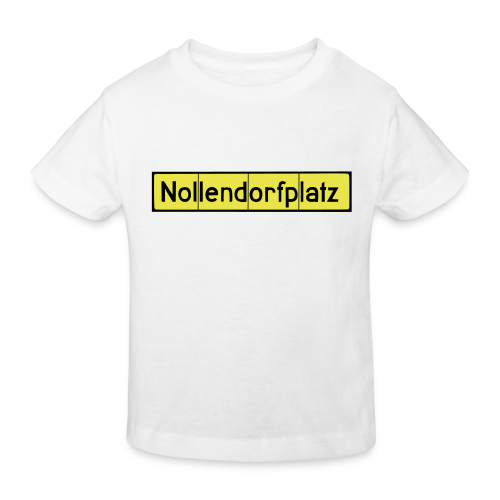 Nollendorfplatz Berlin-Schöneberg - Kinder Bio-T-Shirt