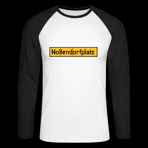 Nollendorfplatz Berlin-Schöneberg - Männer Baseballshirt langarm