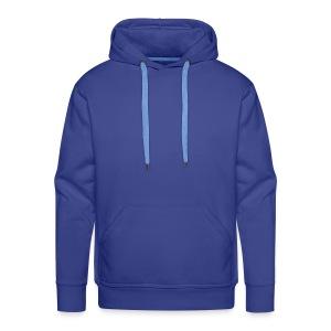 Kapuzenpullover Herren : Blau - Männer Premium Hoodie