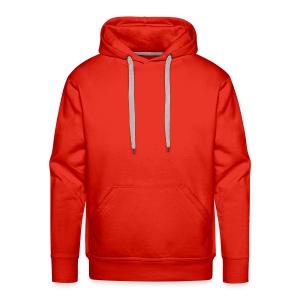 Kapuzenpullover Herren : Rot - Männer Premium Hoodie