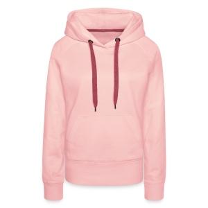 Kapuzenpullover Damen: Rosa - Frauen Premium Hoodie