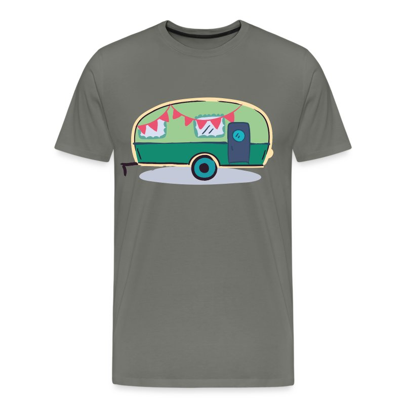Retro Caravan - Men's Premium T-Shirt
