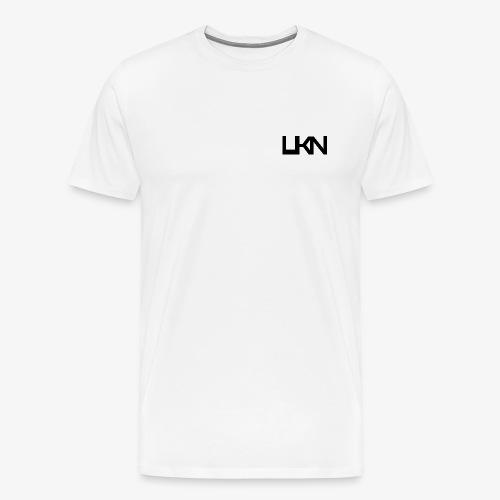 UKN Black Logo Men's T-Shirt - Men's Premium T-Shirt