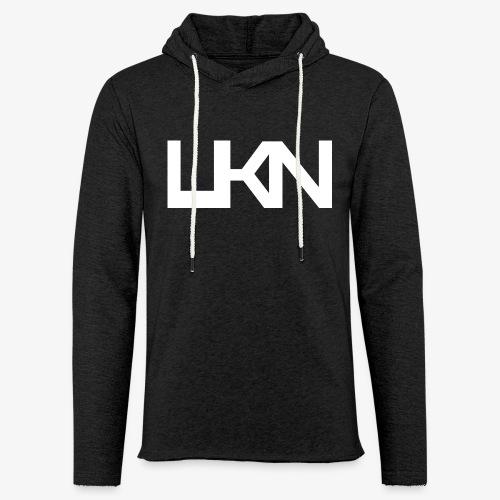 UKN Big Logo Unisex Hoodie - Light Unisex Sweatshirt Hoodie
