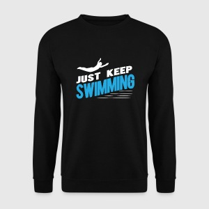 Swimmer Hoodies & Sweatshirts - Men's Sweatshirt