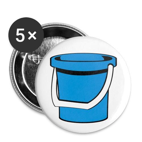 Rintanappi (kuva) - Rintamerkit isot 56 mm (5kpl pakkauksessa)