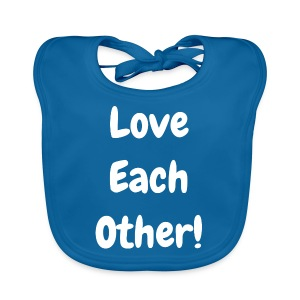 Love Each Other - Original - Baby Organic Bib