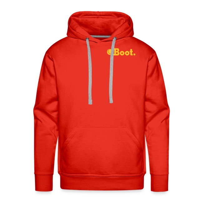 Red with yellow gold DT logo on reverse - click to choose colour
