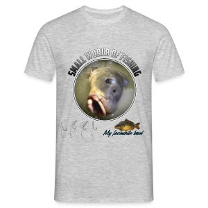 Small World Of Fishing - Hair Knot - T-shirt Homme
