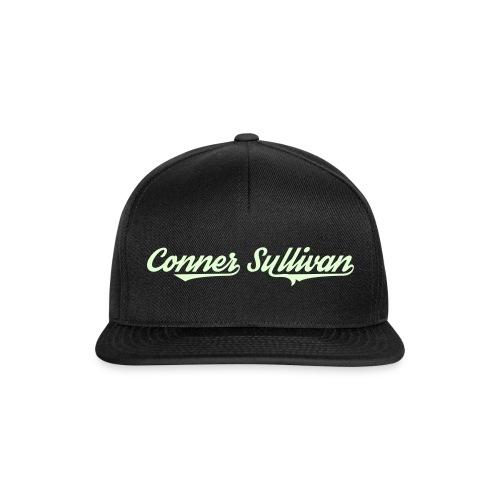 White Glow Logo Snapback - Snapback Cap