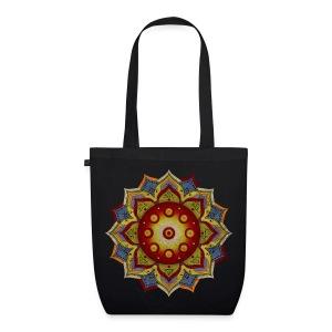 Handpan - Hang Drum Mandala natural - Bio-Stoffbeutel