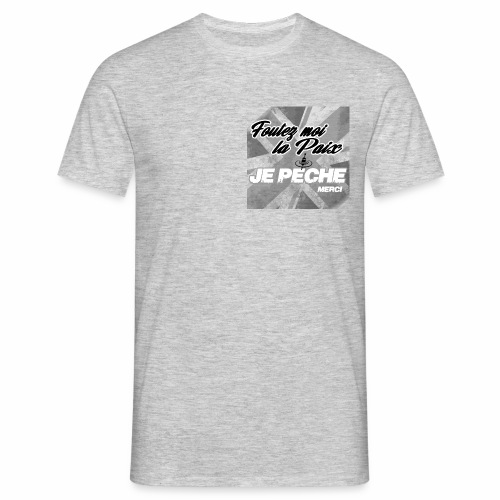 Foutez moi la paix.! - T-shirt Homme