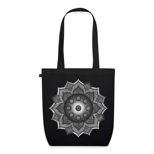 Handpan - Hang Drum Mandala grey - Bio-Stoffbeutel