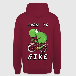 Born to Bike Pullover & Hoodies - Unisex Hoodie