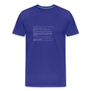 Blue screen of death - Men's Premium T-Shirt
