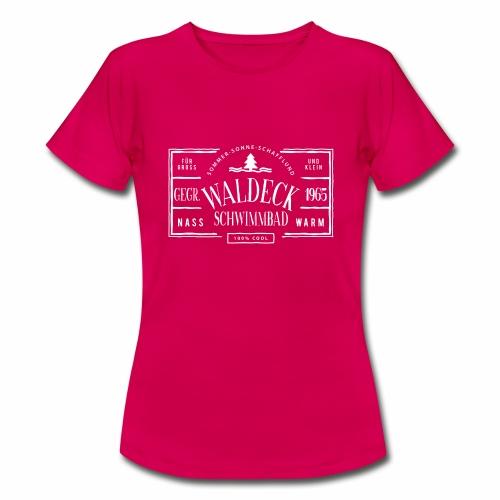 Schwimmbad Waldeck - Shirt - Frauen T-Shirt