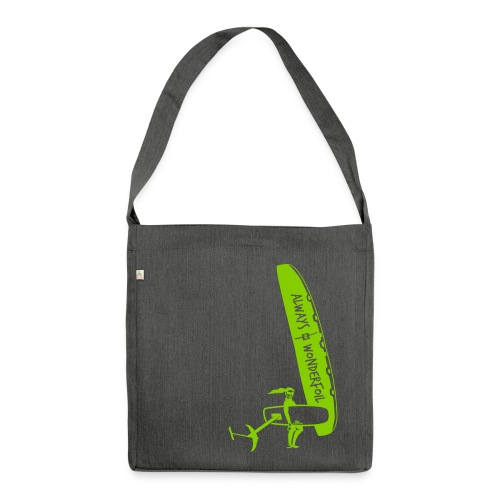 Foilprinzessin Tasche - Schultertasche aus Recycling-Material