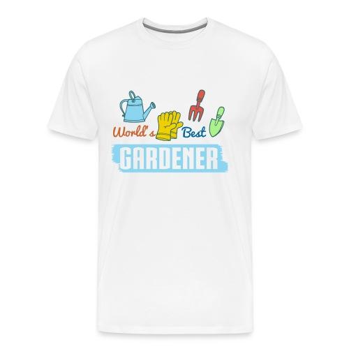 World's Best Gardener T-Shirts - Männer Premium T-Shirt