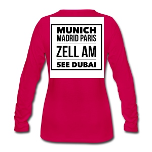 Zell am See - Pink - Long Sleeve, high quality - Frauen Premium Langarmshirt