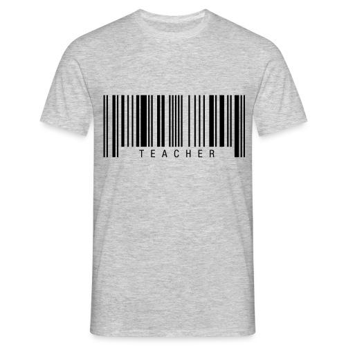 Teacher Barcode T-Shirts - Männer T-Shirt
