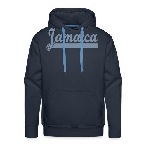 JAMAICA ARGENT - Sweat-shirt à capuche Premium pour hommes
