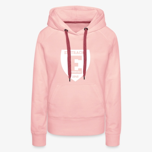 Retro Damen-Hoodie - ROSA - Frauen Premium Hoodie