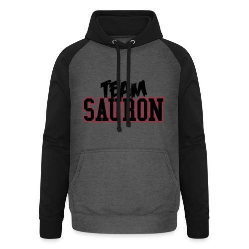 Hoodie Bicolor Team Sauron - Felpa da baseball con cappuccio unisex