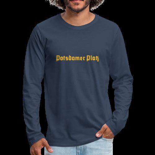 Potsdamer Platz Berlin  - Männer Premium Langarmshirt