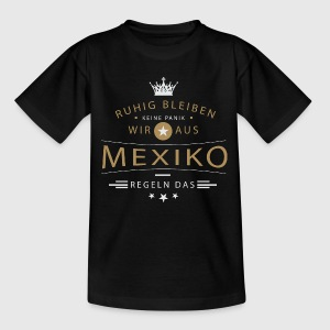 Ruhig bleiben Mexiko T-Shirts - Teenager T-Shirt