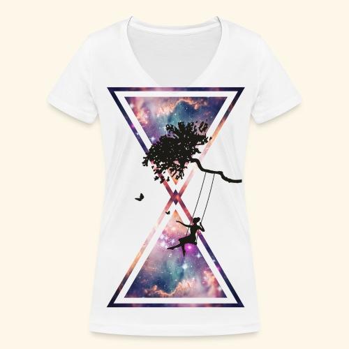 kunst - Frauen Bio-T-Shirt mit V-Ausschnitt von Stanley & Stella