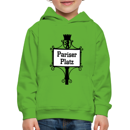 Pariser Platz Berlin  - Kinder Premium Hoodie